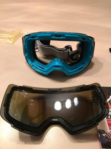 Ski Goggles G2 Magnetic Pro Skiing Snowboarding Goggles UV Anti fog photo review