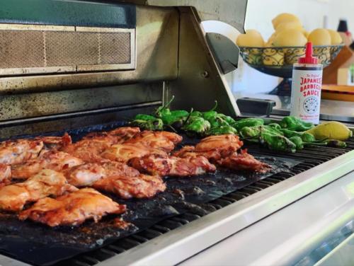 Heat-Resistant Portable Non-Stick BBQ GrillMat™ photo review